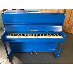 Brinsmead Resprayed Blue Upright Piano