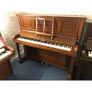 John Strohmenger Mahogany Upright Piano