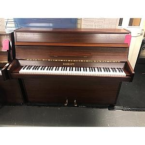 Barratt & Robinson Mahogany Upright Piano