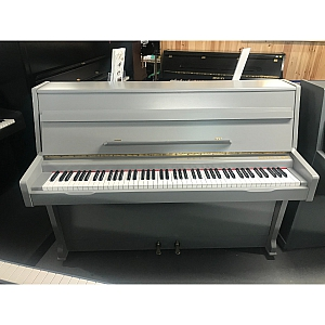 Challen Manor House grey Upright Piano