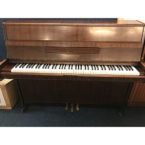Schiedmayer Mahogany Upright Piano