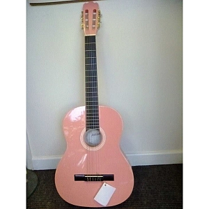 Ashton Classical Guitar **Pink** 4/4 Full-Size