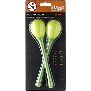 Stagg Long Handle Egg Maracas