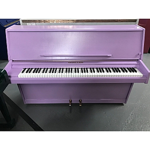 Challen 988 Resprayed Lilac Upright Piano