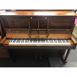 Crowley Oak Upright Piano