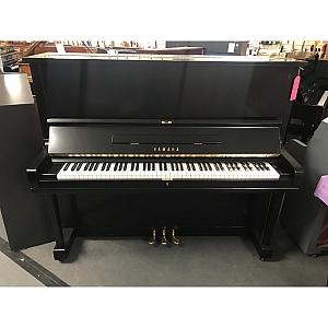 Yamaha U3 Matt Black Upright Piano & Matching Stool