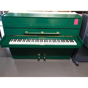 Hupfeld Greeen Upright Piano