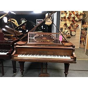 Bechstein Model A Mahogany Grand Piano
