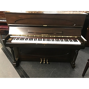 Samick Mahogany Upright Piano