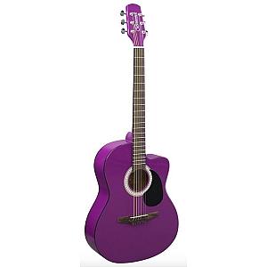 Brunswick BTK10 Junior Acoustic Guitar - Purple