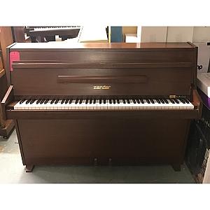 Zender Mahogany Upright Piano