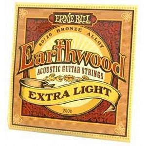 Ernie Ball Earthwood Extra Light Acoustic Guitar Strings
