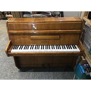 Zender Walnut Polyester Upright Piano