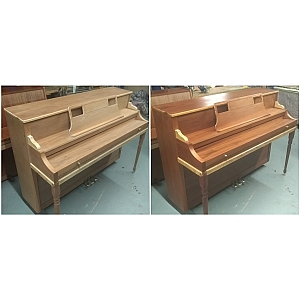Repolishing Upright Piano