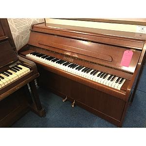 Bentley Mahogany Upright Piano