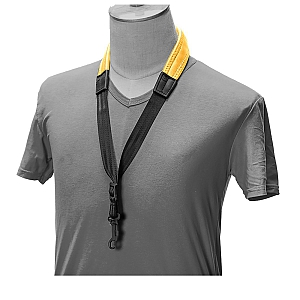 Neoprene Saxophone Strap In Yellow