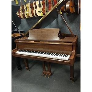Waldstein Satin Walnut Baby Grand Piano