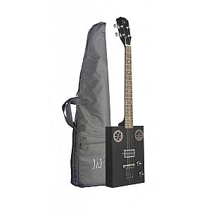 Neligan CASKHOGSCOAL Cigar Box Guitar