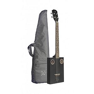 Neligan CASKFIRCOAL Cigar box Guitar