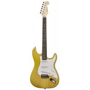 Chord CAL63 S Type Electric Guitar (Amber)