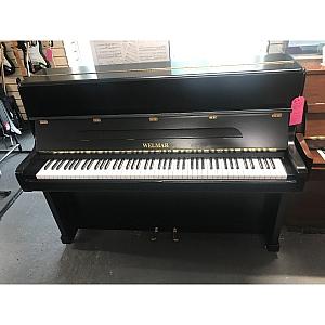 Welmar Black Resprayed Upright Piano