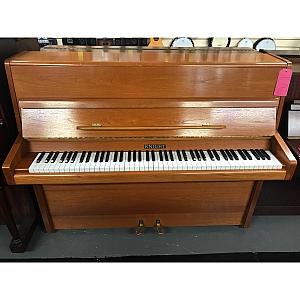 Knight Oak Upright Piano