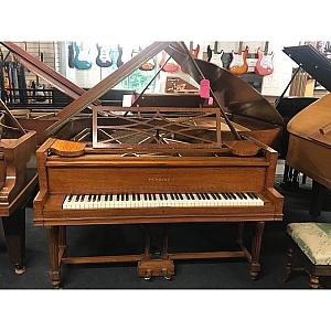 Perzina Flame Mahogany Baby Grand Piano