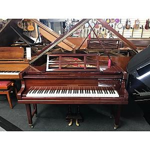 Winkelmann Mahogany Polyester Baby Grand Piano