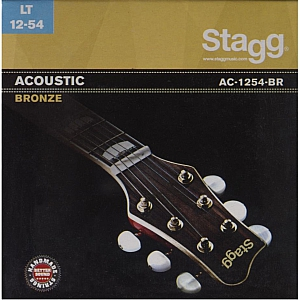 Stagg Bronze Acoustic Guitar Strings Light Gauge