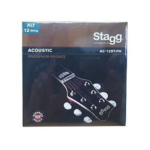 Stagg Phosphor Bronze 12-String Acoustic Guitar Strings