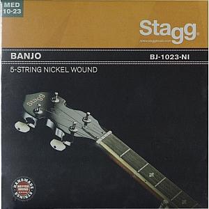 Stagg Nickel Wound 5-String Banjo Strings Medium Gauge