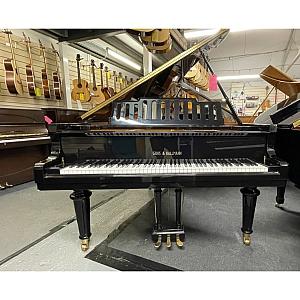 Gors & Kallmann Black Polyester Grand Piano