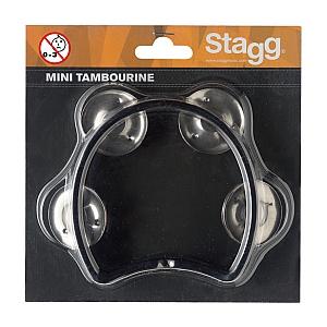 Stagg Mini Tambourine Black
