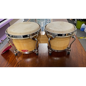 Stagg Bongos (Second Hand) 7 inch + 8 inch Natural