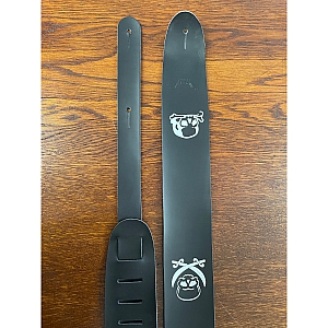Adjustable Guitar Strap Shine Skull and Crossbones