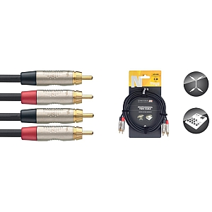 Stagg Professional Twin Cable (3M/10ft)