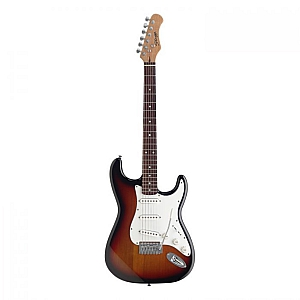 Stagg S300 S Type Guitar (Sunburst)
