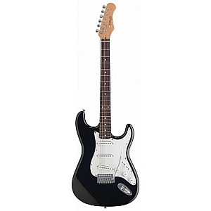 Stagg S250 S Type Electric Guitar (Black)
