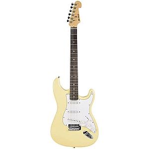 Chord CAL63 S Type Electric Guitar (Cream)