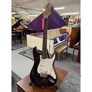 Johnson S Type Electric Guitar (Dark Red)