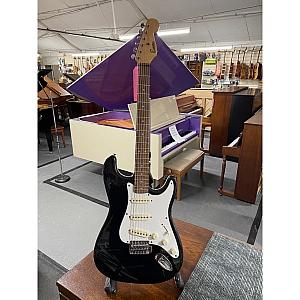 Encore S Type Electric Guitar (Black)