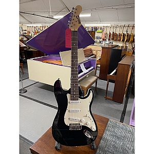 Rockjam S Type Electric Guitar (Black)