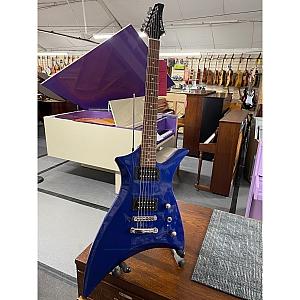 Cruiser By Crafter RG600 Metal Electric Guitar (Metallic Blue)
