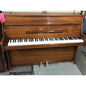 Zender Mahogany Polyester Upright Piano