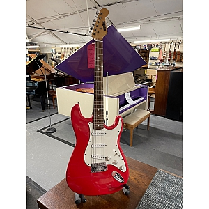 Musikus S Type Electric Guitar (Red)