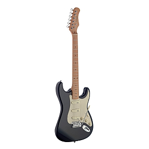 Stagg SES50M S Type Electric Guitar (Black)
