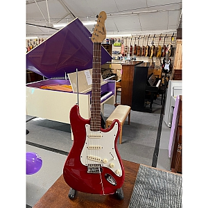 Encore S Type Electric Guitar (Red)