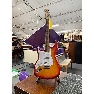 Chord S Type Electric Guitar Left Handed (Sunburst)