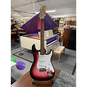 Groove S Type Electric Guitar (Pink Burst)