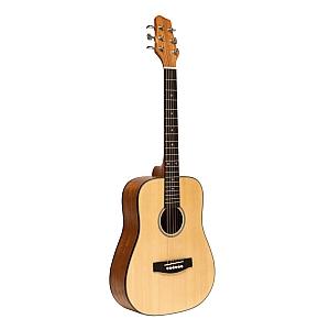 Stagg SA25-SPRU-TRAV Travel Acoustic Guitar
